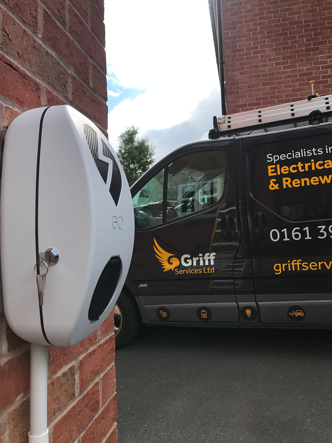 Griff Services Ltd Renewable Energy Solar Panels Installer Home Wiring For An Electric Car Big Electrical Loads Prolonged Periods Of Time Which Is What Happening When You Are Charging Your House Will Deteriorate